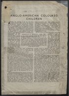 Anglo-American Coloured Children