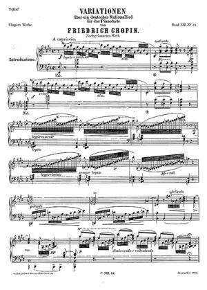 Introduction and Variations on Der Schweizerbub