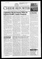 Cheese Reporter, Vol. 125, No. 44, Friday, May 11, 2001