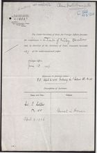 Correspondence re: Disturbances at Honan and Yencheng, and the China Inland Mission, April 1-June 13, 1906