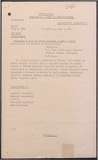 Confidential from Foreign Office to Port-Au-Prince re: Exile Landings, July 9, 1964