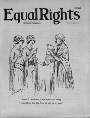 Equal Rights, Vol. 01, no. 02, February  24, 1923