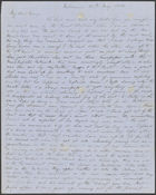 Letter from David Cannan and Jane Cannan to Mary Cannan, from Melbourne, per Madras and overland via Southampton, 20 May 1854; 26 May 1853 (nla.obj-536512501)