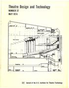 Theatre Design & Technology, no. 37, May, 1974