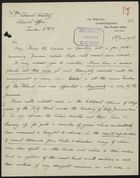 Letter from R. S. Glanville Richards to Colonial Secretary, Colonial Office, re: Former Planter and Magistrate in Jamaica Offers Advice on Labour Unrest and Agricultural Issues, June 7, 1938