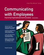 Communicating with Employees: Improving Organizational Communication