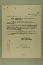 Memo from Henry Jervey re: Alleged Killing of Two Mexican Customs Guards by American Soldiers, April 11, 1918