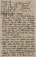 Letter from Jessie Love to Maggie Jack, January 5, 1893