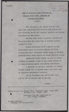 Copy of Telegram from British Consul, Damascus, to Foreign Office re: Bands Entering Jewish and Consulate Quarters, December 3, 1925