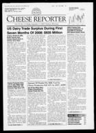 Cheese Reporter, Vol. 133, No. 11, Friday, September 12, 2008