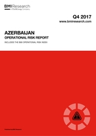 Azerbaijan Operational Risk Report: Q4 2017