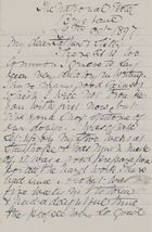Letter from Janet Jack to Robert and Maggie Jack, October 9, 1897