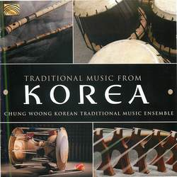 Traditional Music From Korea Cover Art