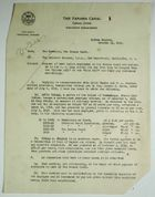 Letter from Governor of Panama Canal to War Department re: West Indian Employees, October 21, 1919