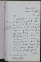 Correspondence re: Haitian Exiles in Jamaica, February-March, 1892