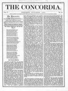 The Concordia, Vol. 1, no. 10, October, 1866