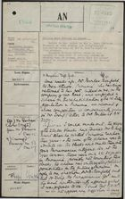 Foreign Office Registry: Letter from Mr. Oliver H. Bonham-Carter to Mr. Perowne re: Opening a B.W.I. Cultural Center or Reading Room in Panama, with Related Minutes, October-November 1944