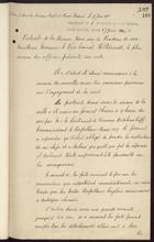 Accounts of Meetings with Vice Admiral Hiltebrandt, June 1900
