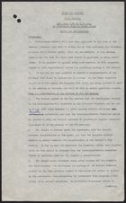 Draft of Clean Air Council: Tenth Meeting -- Brief for the Minister, July 1960