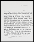 Letter from MG to Sakkie, 5 Sep. 1965