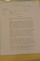 Memo from Natalie S. Wozniak to Jeremy D. Rosner re: CNN Town Hall Meeting, April 28, 1994