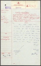 Communique from Sir F. Evans to Foreign Office, with related minutes re: Peron's Position Seems Secure, June 22, 1955