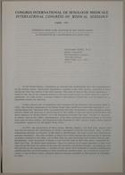 Congrès International de Sexologie Médicale - International Congress of Medical Sexology (Experience With Legal Abortion in the United States - La Législation De L' Avortement Aux Etats-Unis) - Paris 1974