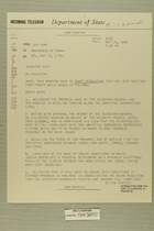 Telegram from Henry Cabot Lodge, Jr. in New York to Secretary of State, May 16, 1956