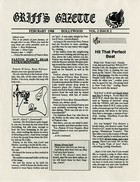 Griff's Gazette, Volume 2, Issue 2, February 1988