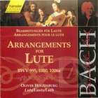Bach: Arrangements for Lute, BWV 995. 1000, 1006a