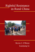 Cambridge Studies in Contentious Politics, Rightful Resistance in Rural China