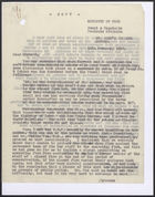 Copy of Letter from Frank Hollins to John T. Corbett re: Soft Drinks Concentration Scheme, January 11, 1943