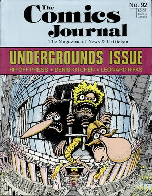 The Comics Journal, no. 92