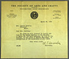 Letter from Rockwell Kent to Dorothy Sturgis Harding, February 8, 1958