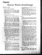 Kesimpulan2 Seminar Wanita Rumahtangga [Conclusions from the Household Women Seminar]