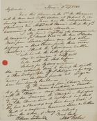 Letter from Alex Forbes to William Leslie, September 11, 1840