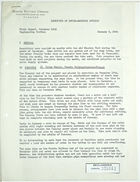 Field Report from Gardner Gantz re: December 1943 Report of Mision Tecnica Orense Engineering Section