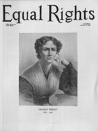 Equal Rights, Vol. 12, no. 26, August 08, 1925