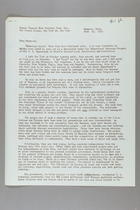 Letter from Anna Lord Strauss to the Carrie Chapman Catt Memorial Fund, June 13, 1953