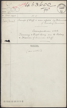 Transfer of Staff in Areas Affected by Determination of Boundary Commission, 1925
