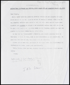 Letter from CDF to MG, 2 Sep. [1971]