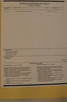 Clinton Library Withdrawal/Redaction Sheet from Clinton Presidential Records, NSC Records Management, ([Steinberg & Rwanda]), Box 216, Folder [9408001]