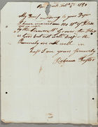 Foster Family Papers, 1784-1843
