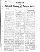 Bulletin, vol. 3 no. 2, June 1929