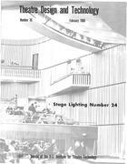 Theatre Design & Technology, no. 16, February, 1969