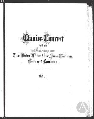 Clavier-Concert VI