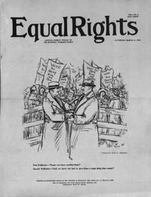 Equal Rights, Vol. 01, no. 04, March  10, 1923