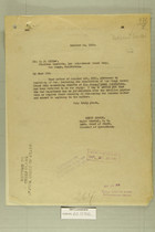 Letter from Henry Jervey to E. J. Miller, Oct. 16, 1919