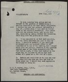 Letter from P. Rogers to A. E. V. Barton re: Assistance from West India Committee for Immigrant Housing, July 10, 1959