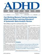 Can Working Memory Training Ameliorate ADHD and Other Learning Disorders? A Systematic Meta-Analytic Review